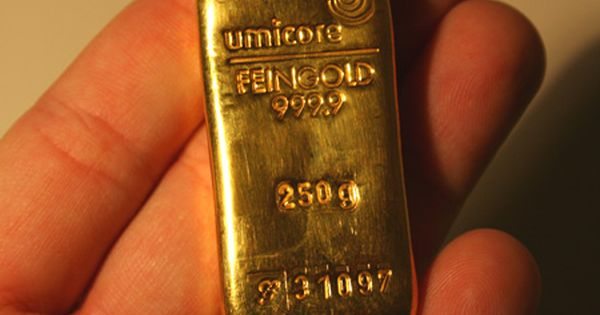 Gold Bars From South Africa